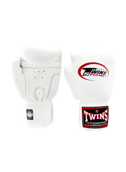 Twins Special 16oz BGVL3 Boxing Gloves, For Boxing/Muay Thai/MMA, White