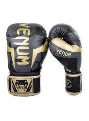 Venum 14oz Elite Boxing Gloves, Camo Gold
