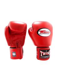 Twins Special 14oz BGVL3 Boxing Gloves, For Boxing/Muay Thai/MMA, Red