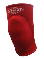 Matman Neoprene Air Knee Pad, Large, Red