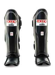 Yokkao Small Matrix Martial Arts Shin Guards, Black