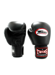 Twins Special 8oz BGVL3 Boxing Gloves, For Boxing/Muay Thai/MMA, Black