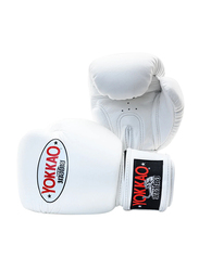 Yokkao 14oz Matrix Boxing Gloves, White