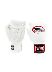 Twins Special 12oz BGVL3 Boxing Gloves, For Boxing/Muay Thai/MMA, White