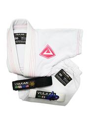 Vulkan B3 Baby Gi Kimono, White/Pink