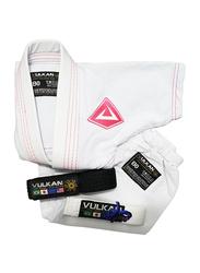 Vulkan B2 Baby Gi Kimono, White/Pink
