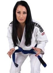 Tatami Fightwear F4 Japan Series Samurai Gi Kimono for Ladies, White