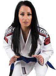 Tatami Fightwear F3 Nova Mk4 Bjj Gi Kimono with Included Free White Belt for Ladies, White