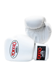 Yokkao 16oz Matrix Boxing Gloves, White