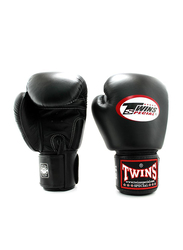 Twins Special 6oz BGVL3 Boxing Gloves, For Boxing/Muay Thai/MMA, Black