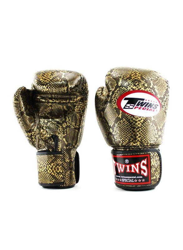 Twins Special 14oz FBGVS3-CB Fancy Boxing Gloves, Gold