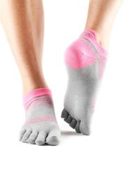 Toesox Lolo Sport 4AM Socks, Medium, Flush