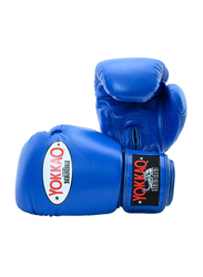Yokkao 14oz Matrix Boxing Gloves, Blue