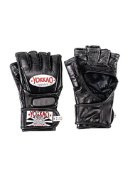 Yokkao Extra Large Competition MMA Gloves with Thumb, Black