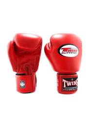 Twins Special 10oz BGVL3 Boxing Gloves, For Boxing/Muay Thai/MMA, Red
