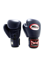 Twins Special 12oz BGVL3 Boxing Gloves, For Boxing/Muay Thai/MMA, Navy Blue
