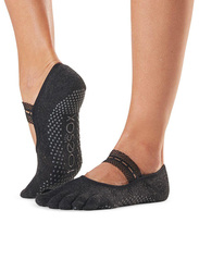 Toesox Mia Full Toe Socks, Small, Merci