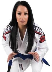 Tatami Fightwear F1 Nova Mk4 Bjj Gi Kimono with Included Free White Belt for Ladies, White
