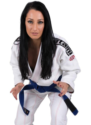 Tatami Fightwear F2 Japan Series Samurai Gi Kimono for Ladies, White
