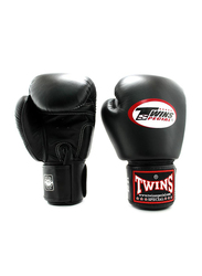 Twins Special 14oz BGVL3 Boxing Gloves, For Boxing/Muay Thai/MMA, Black
