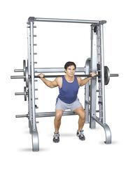 Inflight Fitness Smith Machine, 5003, Grey