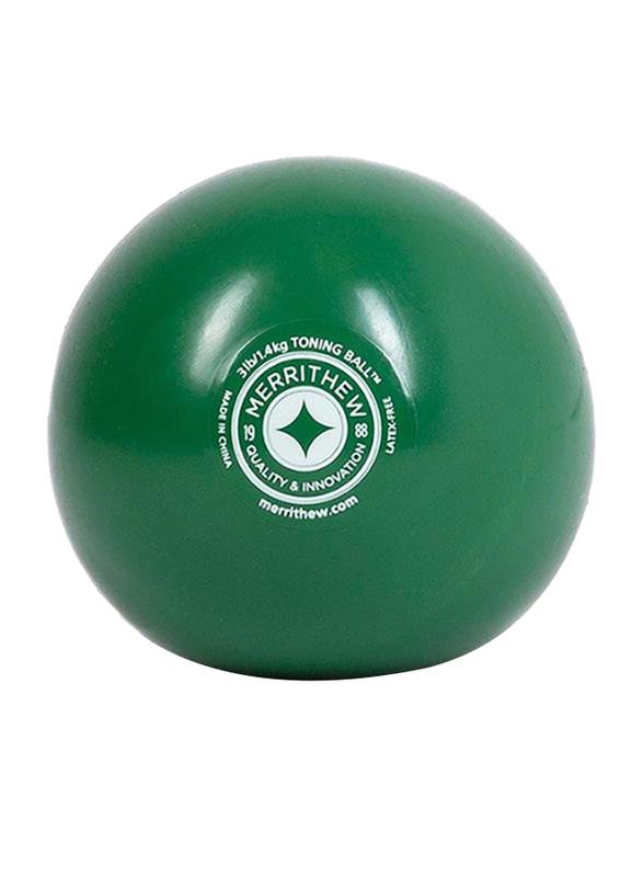 Merrithew Toning Ball, 3 Lbs, Green
