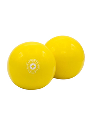Merrithew Toning Ball, 2 Pieces, 2 Lbs, Yellow
