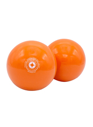 Merrithew Toning Ball, 2 Pieces, 1 Lbs, Orange