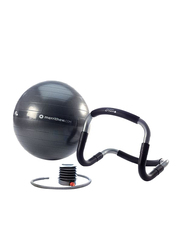 Merrithew Halo Trainer Plus with Stability Ball & Pump, 55cm, Grey/Black
