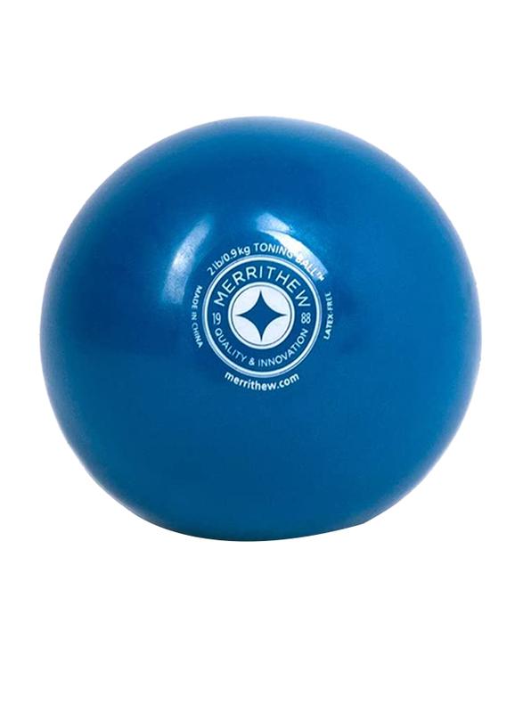 Merrithew Toning Ball, 2 Lbs, Blue