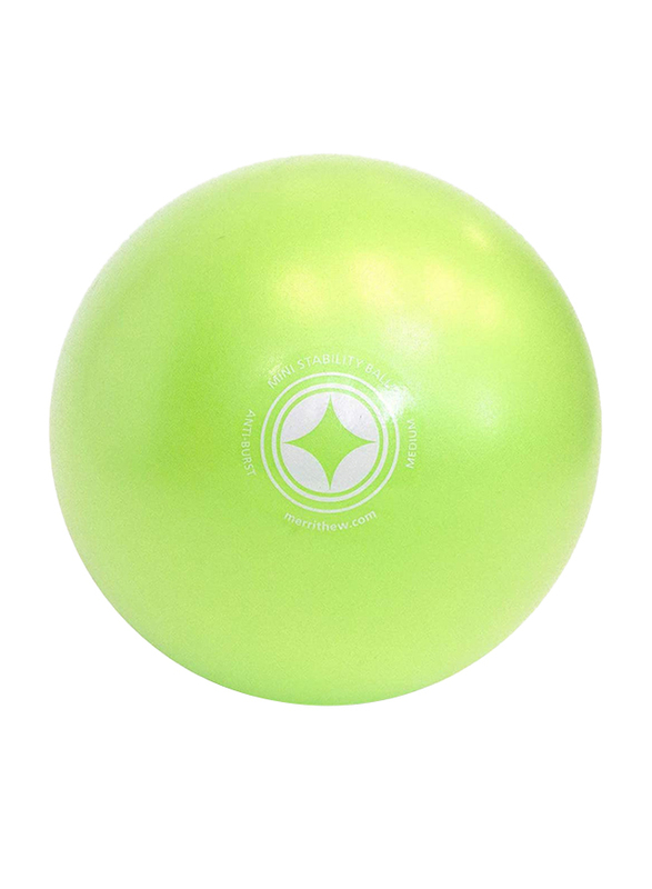 Merrithew Mini Stability Ball, 10 Inch, Green