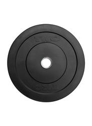 TKO Rubber Bumper Plate, 5LBS, Black
