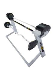 First Degree Fitness Mx80 Adjustable Barbell with Ez Curl Bar, Black