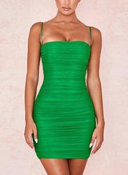 VBTQE Penelope Strapless Mini Dress, 6 UK, Green