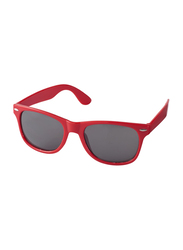 Silver Sword Sunray Retro-Looking Sunglasses for Kids, Red