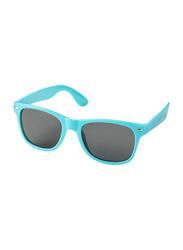 Silver Sword Sunray Retro-Looking Sunglasses for Kids, Aqua Blue