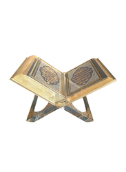 Silver Sword Crystal Gold Plated Quran Replica Model, 29 x 16cm, Multicolour