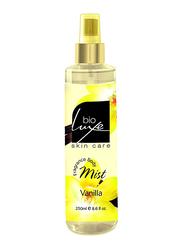 Bioluxe Vanilla Fragrance 250ml Body Mist Unisex