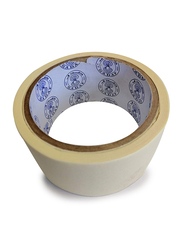 Sadaf Masking Tape, 2 Inch x 48 Yards, 6 Rolls, White