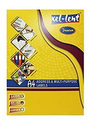 Xellent Round Corner Laser Labels, A4, 65 Labels/Sheets, 38.1 x 21.2mm, Multicolour