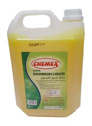 Chemex Super Dishwashing Liquid, GONDWL, 4 Pieces x 5 Liter