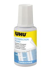 UHU Correction Fluid, 20ml, White