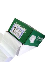 Sinarline NCR Computer Paper, 24.1 x 27.9cm, 3 Ply, Box of 500 Sets, A4 Size, Plain White