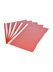 Durable DUPG2573-03 Project File, A4 Size, 50-Piece, Red