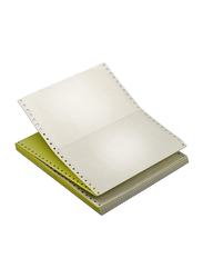 Sinarline Computer Paper, 2 Ply, NCR, 1000 Sets, A4 Size, White