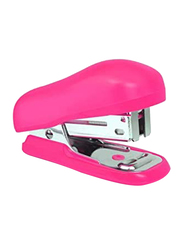 Rapesco Bug Mini Stapler, Hot Pink