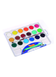 Jovi 24-Bars Watercolors Plastic Box, 22mm, Multicolor