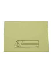 Delight Premier 300GSM Full Flap/Cover File, 10 Piece, Yellow