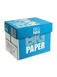 Big Paper Printing Photocopy Paper, 500 Sheets, 80gsm, 5 Reams Pack, A4 Size, White
