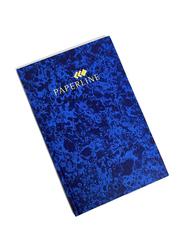 Paperline HB 02800 Single Ruled Register, 144 Sheets, Blue